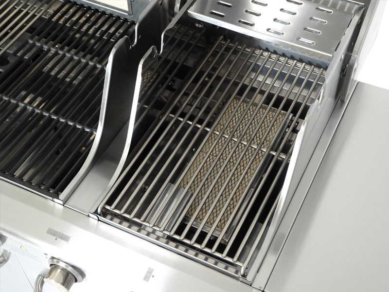 Brenner Für Gasgrill : Bbq gas grill mit brenner aus edelstahl mdc nolimit